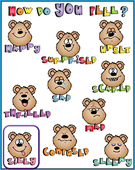 Clip Art Emotions Clipart feelings and emotions clipart kid made by alix using clip art from our holly daze digital scrapbook