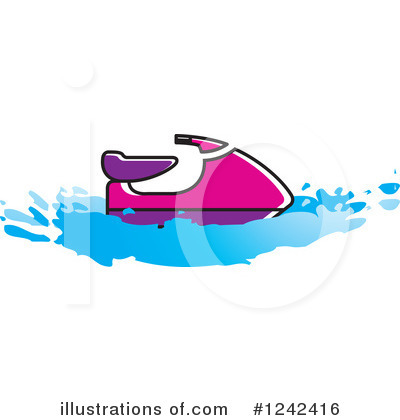 Royalty Free  Rf  Jet Ski Clipart Illustration By Lal Perera   Stock
