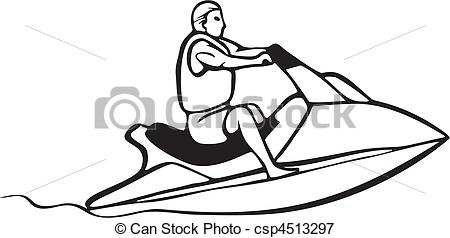 Vector   Auto And Boat Racing   Stock Illustration Royalty Free