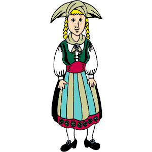 Dutch Girl Clipart Cliparts Of Dutch Girl Free Download  Wmf Eps