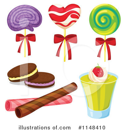 Royalty Free Rf Candy Clipart Illustration By Colematt Stock
