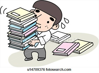 Stress Document Job Tired Businessman  Fotosearch   Search Clipart