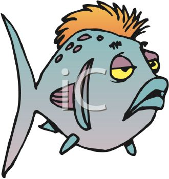 0511 0905 1623 3857 Sick Cartoon Fish Clipart Image Jpg
