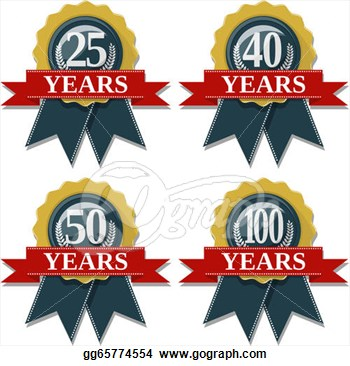 50 Years Old Clip Art