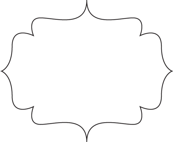 Black White Bracket Frame   Free Images At Clker Com   Vector Clip Art