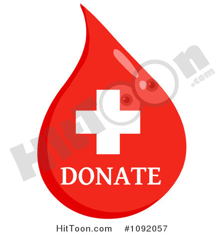 Blood Clipart  1092057  Donate