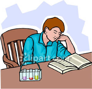 Boy Studying Clipart Boy Studying C