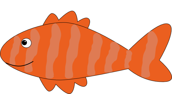Cartoon Fish Clip Art At Clker Com   Vector Clip Art Online Royalty
