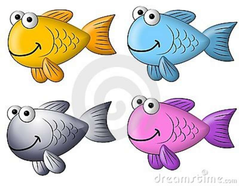 Colourful Cartoon Fish Clip Art Royalty Free Stock Photography   Image