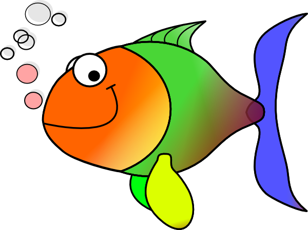 Comic Fish Clip Art At Clker Com   Vector Clip Art Online Royalty