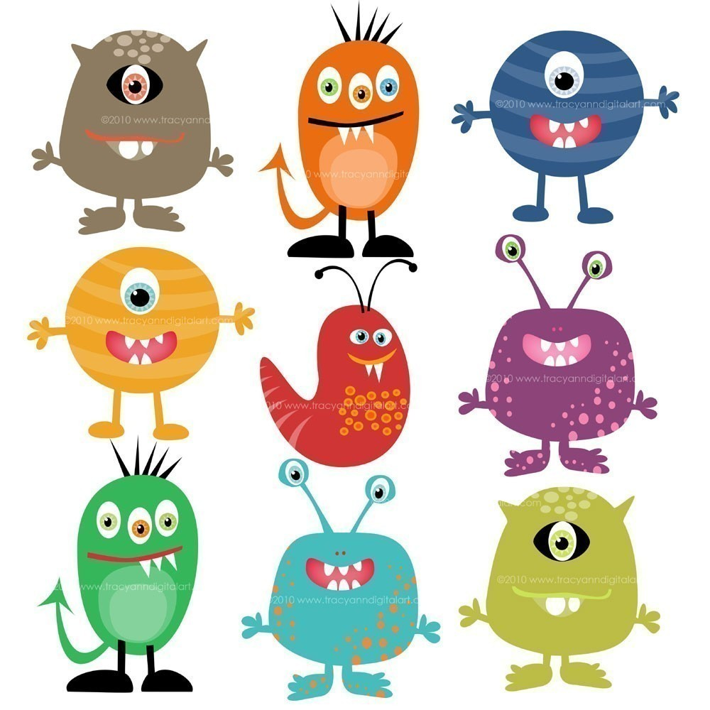 Birthday Monsters Inc Clipart - Clipart Kid