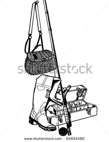 Fishing Basket Stock Photos Illustrations And Vector Art