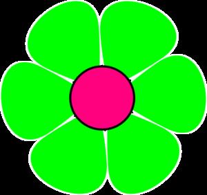Green Flower Clipart - Clipart Kid