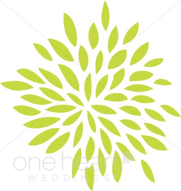 Lime Green Flower Clipart   Flower Clipart