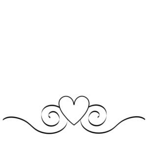 Heart Swirls Clipart - Clipart Kid