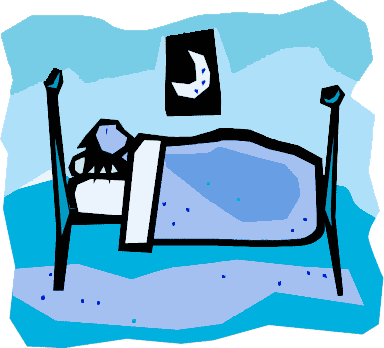 Sleeping Person Clipart - Clipart Kid