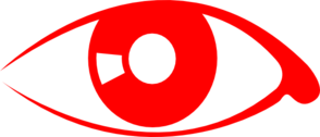Red Eye Clip Art At Clker Com   Vector Clip Art Online Royalty Free