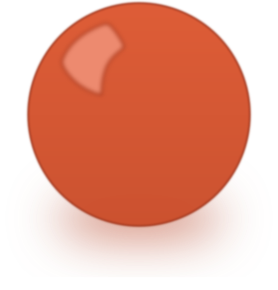 Red Snooker Ball Clip Art At Clker Com   Vector Clip Art Online