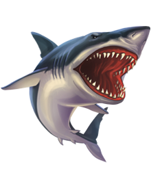 Shark Attack Clipart