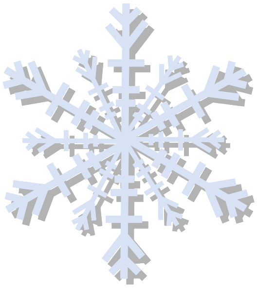 Snow Flake Clip Art At Clker Com   Vector Clip Art Online Royalty