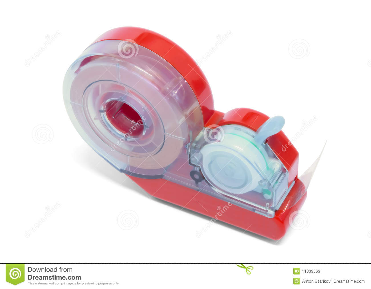 Automatic Sticky Tape Dispenser Stock Photos   Image  11333563