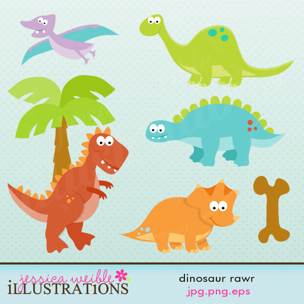 free girl dinosaur clipart - photo #35