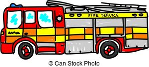Fire Engine Stock Illustrations  2091 Fire Engine Clip Art Images And