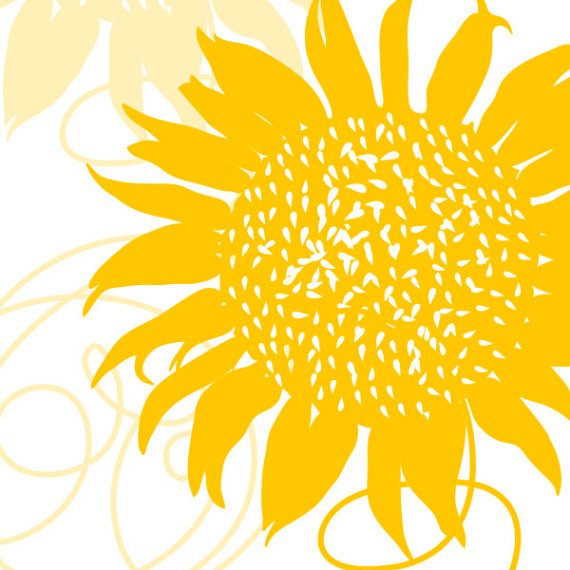 Sunflower Wedding Clipart - Clipart Kid
