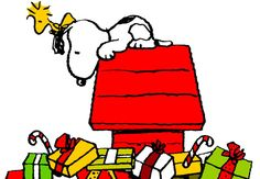 Snoopy Christmas On Pinterest   Snoopy Woodstock And Snoopy And
