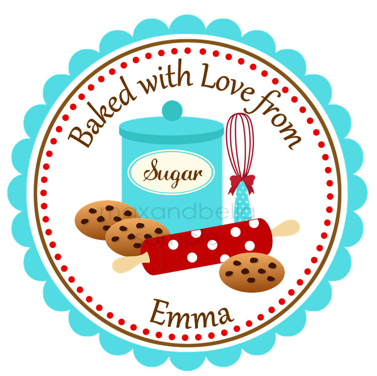 Bake Cookies Clipart Baking Cookies Personalized