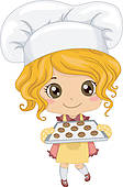 Baking Cookies Illustrations And Clip Art  834 Baking Cookies Royalty
