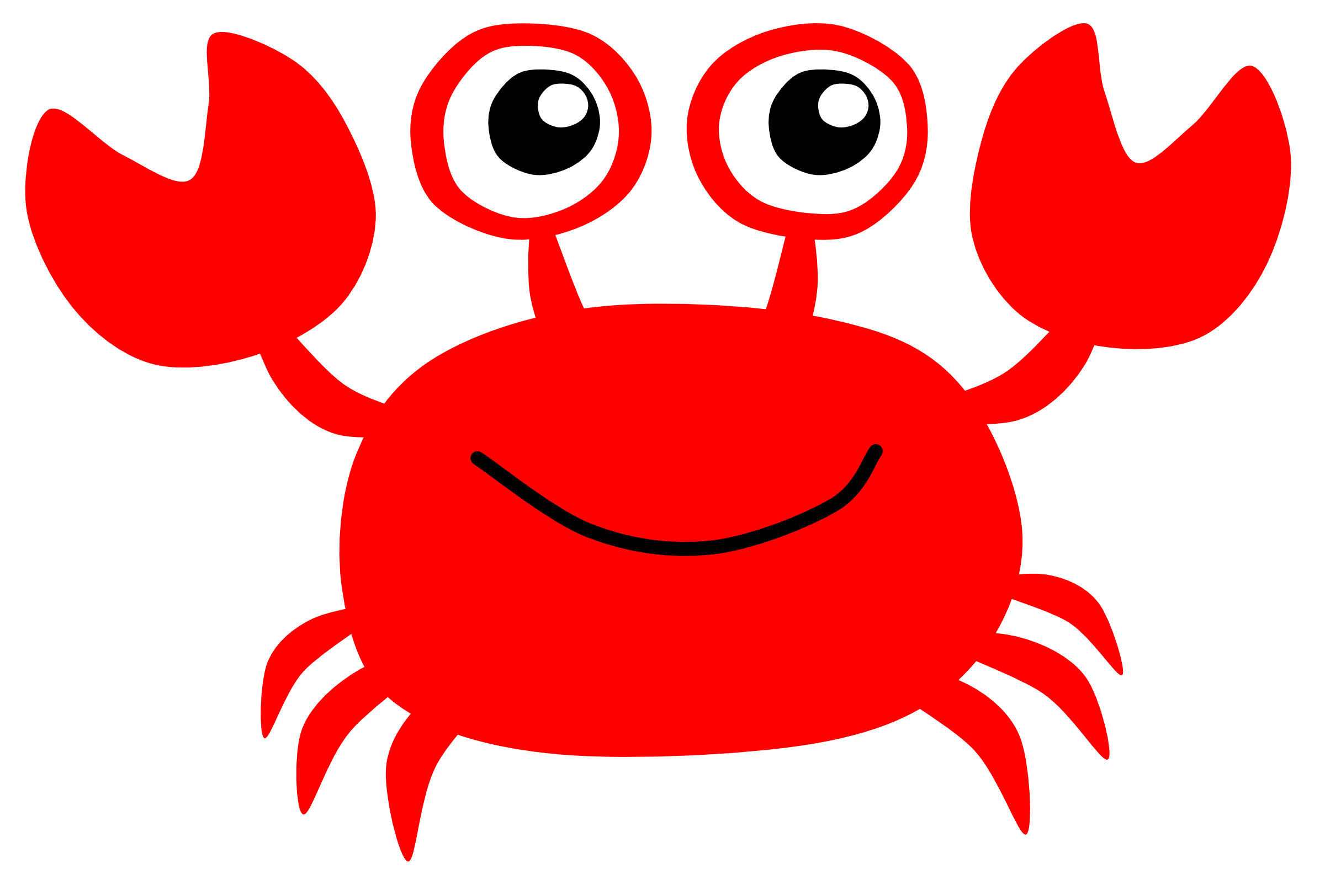 Cute Crab Clipart - Clipart Kid