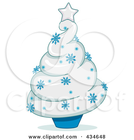 Royalty Free  Rf  Cupcake Christmas Trees Clipart Illustrations