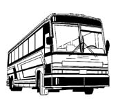 Showing Gallery For Charter Bus Clipart