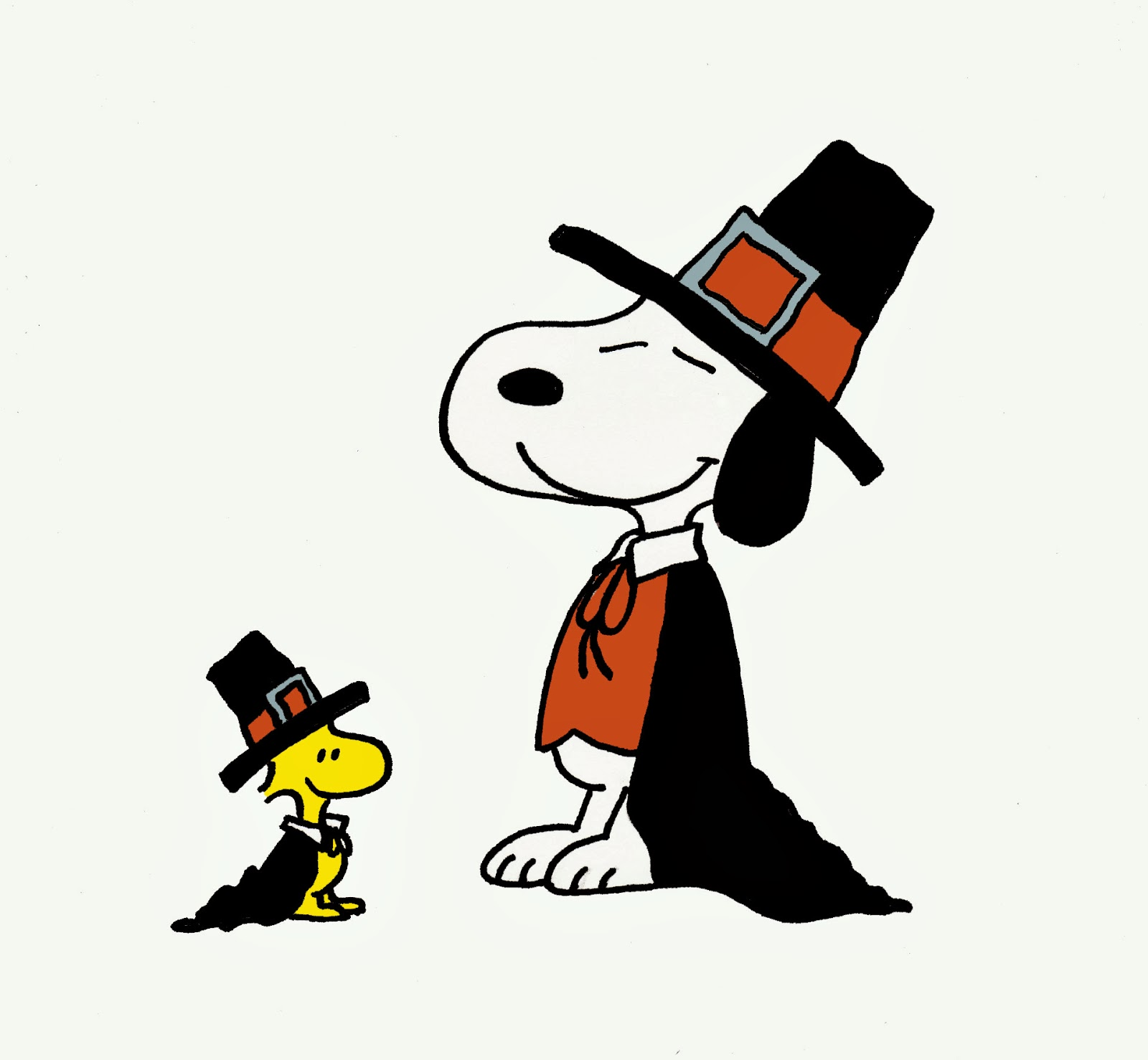Snoopy And Woodstock From A Charlie Brown Thanksgiving