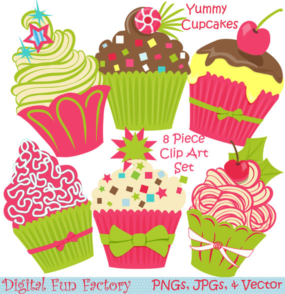 To Christmas Clipart  Cupcake Christmas Clipart Cupcakes Clipart