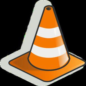 Traffic Cone 2 Clip Art At Clker Com   Vector Clip Art Online Royalty