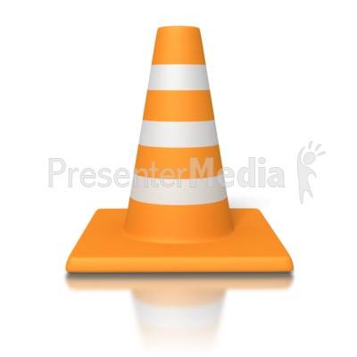 Traffic Cone   Signs And Symbols   Great Clipart For Presentations
