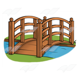 Wood Bridge Clipart Wood Bridge