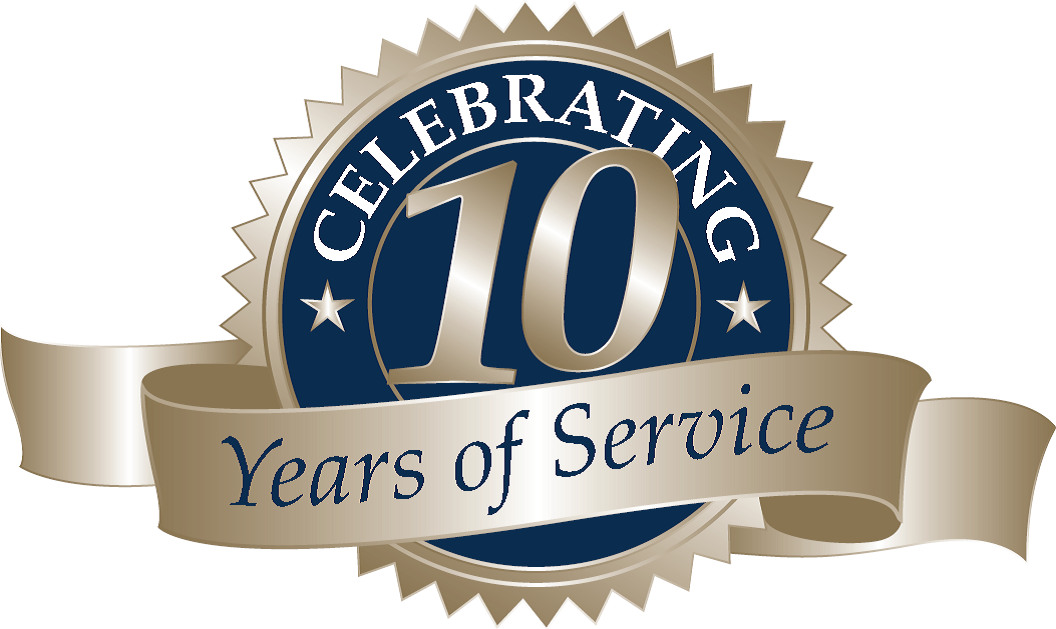 10 year work anniversary use this 10 year work anniversary clipart in ...