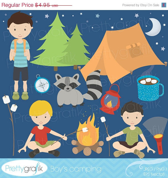 40  Off Sale Camping Clipart For From Prettygrafik Design
