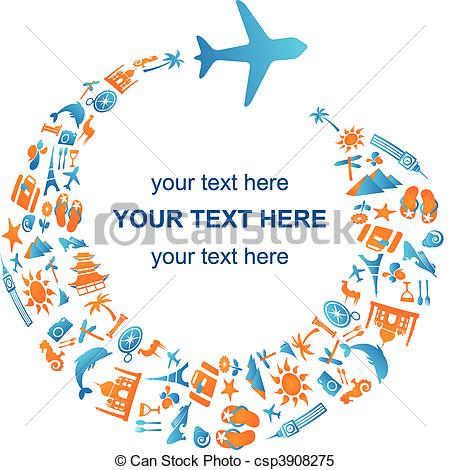 Airplane Travel Clip Art Traveling By Air