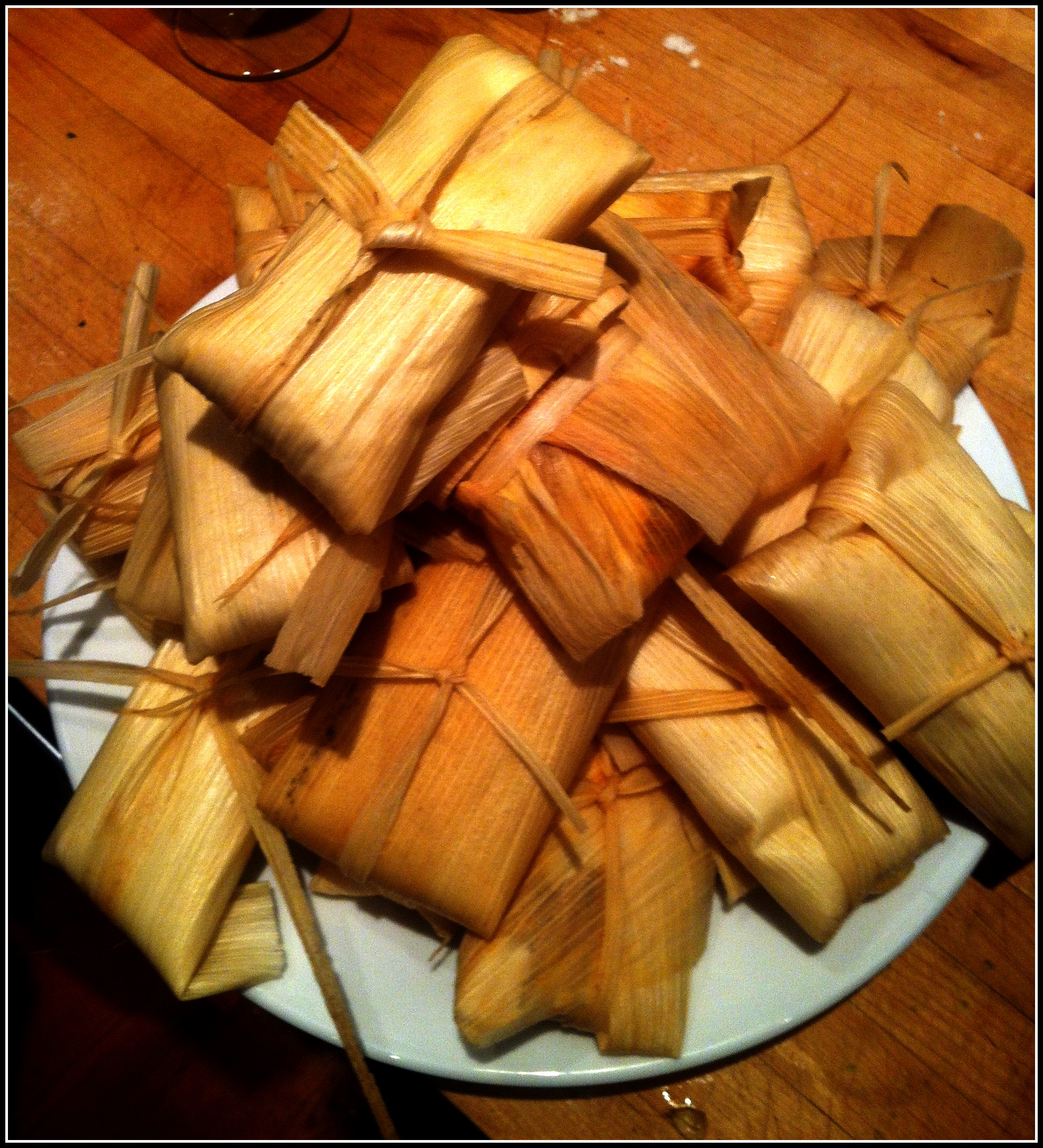 Arrange The Tamales All In The Steamer Cover And Steam For