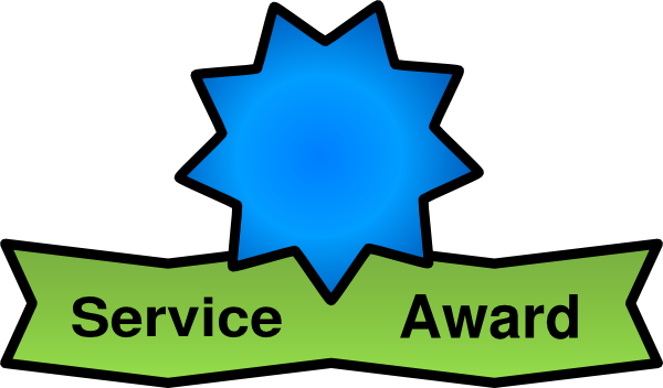 Years Of Service Awards Clipart - Clipart Kid