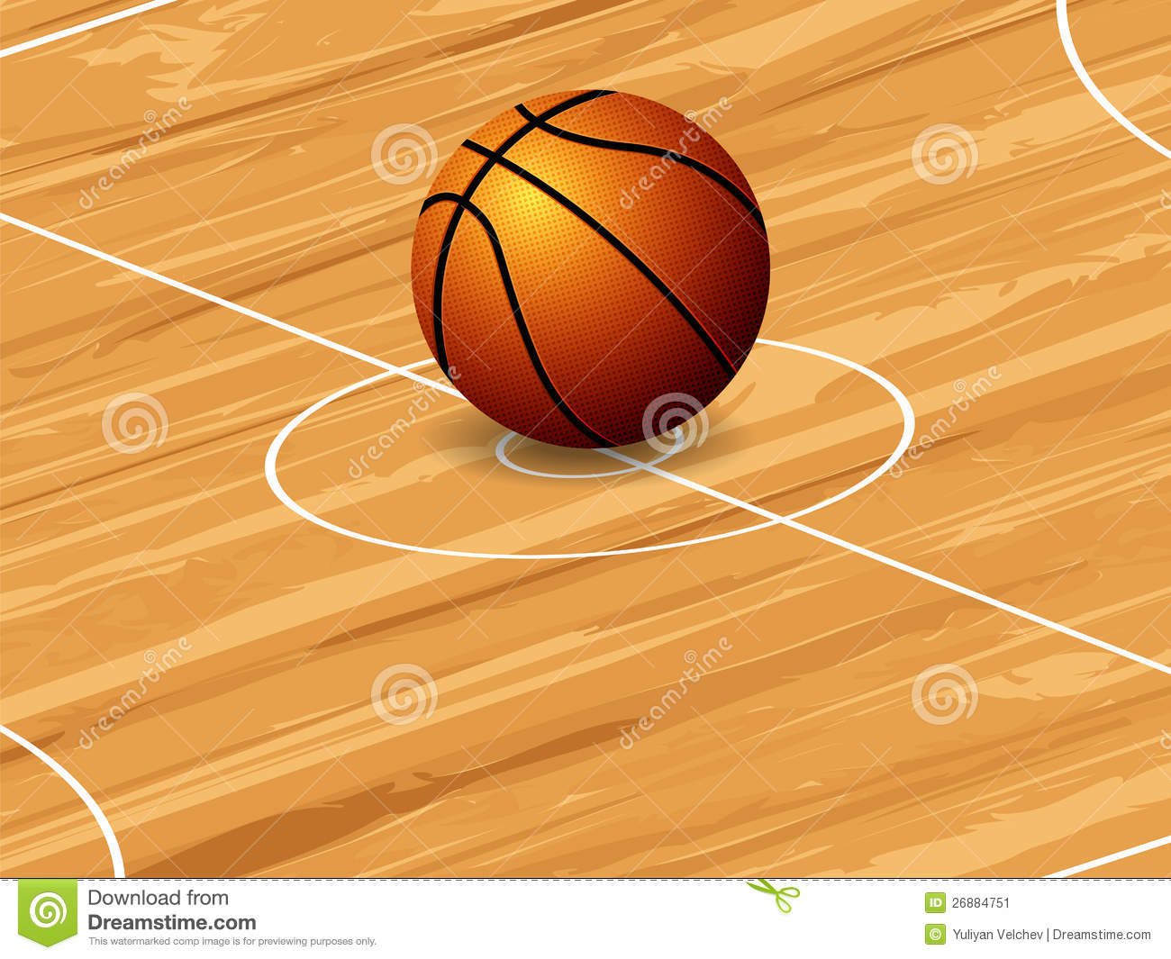 Basketball Ball On Court Background Mr No Pr No 2 440 1