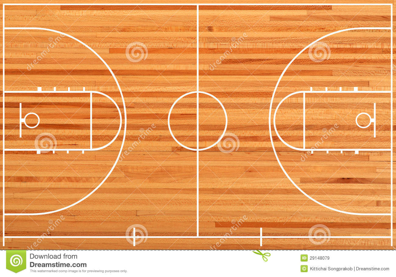 Basketball Court Plan On Parquet Background Mr No Pr No 4 1050 10