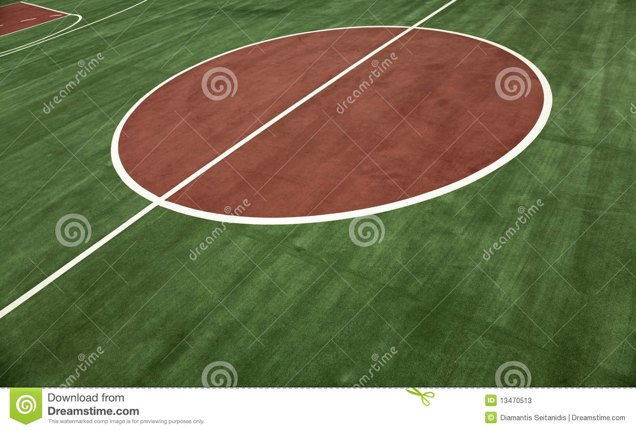 Basketball Court Stand Out On Background Of Fresh Green Mr No Pr No 0