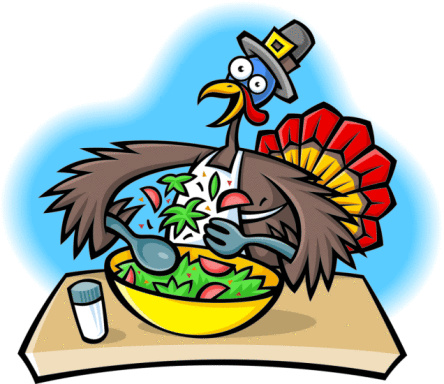 Funny Thanksgiving Turkey Clipart 444x384 Jpg