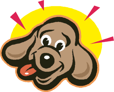 Happy Dog Face Clip Art Png  400 323    Illustration Style Collection