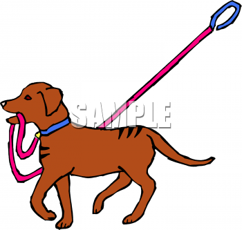 leash clip art Gallery